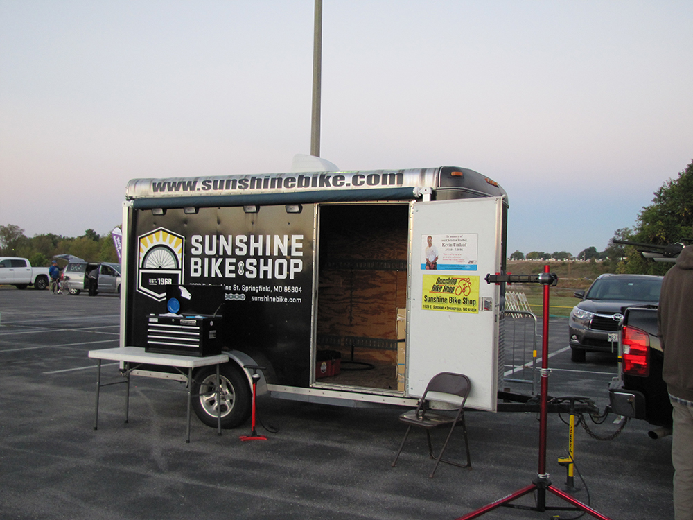 Sunshine Bike Shop at Tour de Bass (2015)