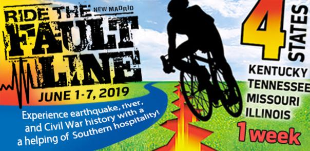 Ride the Fault Bicycle Tour 2019 - Springbike Cycling Calendar in